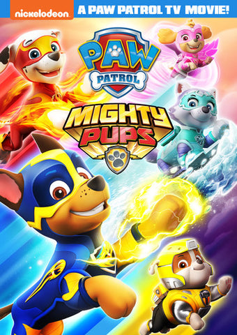 Paw Patrol: Mighty Pups - (Widescreen) (DVD)