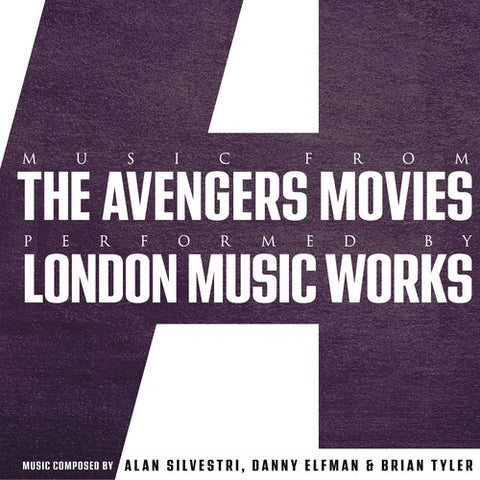 London Music Works - Music From The Avengers Movies -  (Vinyl)