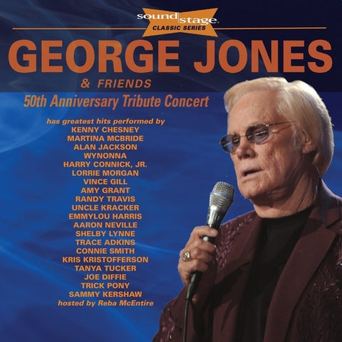 George Jones & Friends - 50th Anniversary Tribute Concert: Soundstage - (With DVD, Anniversary Edition) (CD)