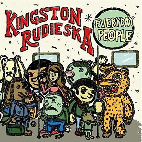 Kingston Rudieska - Everyday People -  (Vinyl)