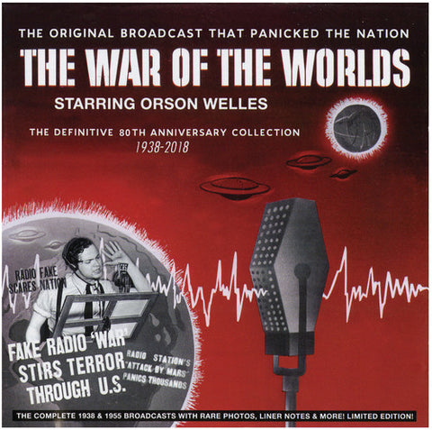 Orson Welles - The War Of The Worlds - The Definitive 80th Anniversary Collection 1938-2018 (Deluxe Edition) - (Deluxe Edition) (CD)