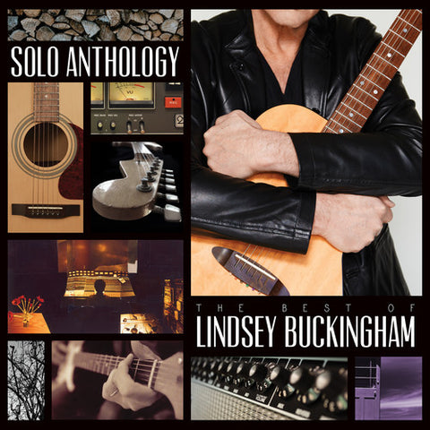 Lindsey Buckingham - Solo Anthology: The Best Of Lindsey Buckingham - (Oversize Item Split, 180 Gram Vinyl) (Vinyl)
