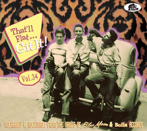 Various Artists - That'll Flat Git It Vol. 34: Rockabilly And Rock 'n' Roll From The   Vaults (Various Artists) - (With Booklet, Digipack Packaging) (CD)
