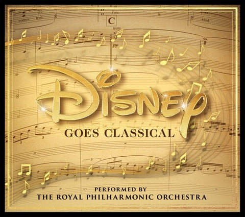 Royal Philharmonic Orchestra - Disney Goes Classical -  (CD)