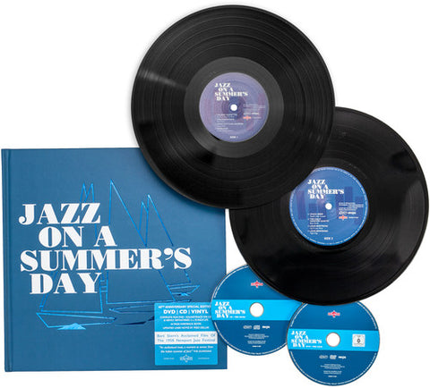Various Artists - Jazz On A Summer's Day /  Various [Import] - (Boxed Set, United Kingdom - Import, NTSC Region 0) (CD)