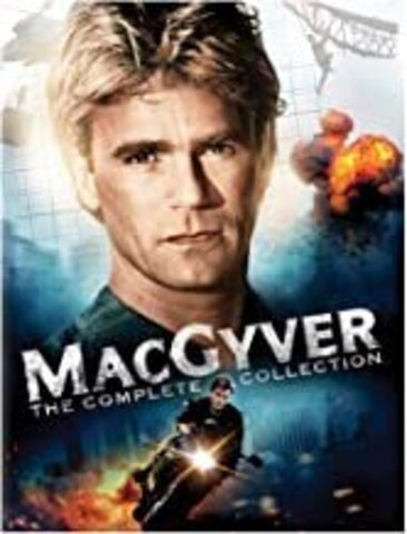 MacGyver: The Complete Collection - (Boxed Set, Full Frame, Repackaged, Slipsleeve Packaging, Mono Sound) (DVD)