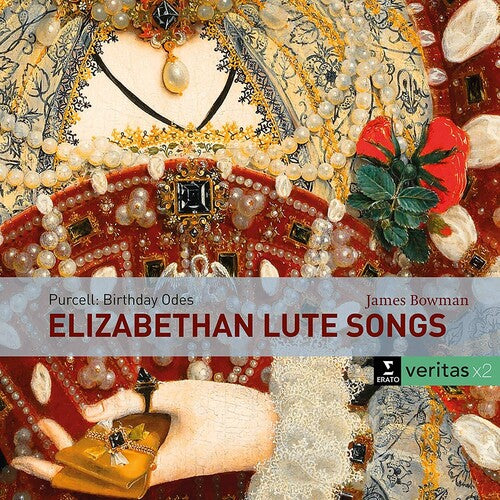 BOWMAN,JAMES / MUNROW,DAVID - Elizabethan lute songs /  Purcell: Birthday Odes for Queen Mary -  (CD)