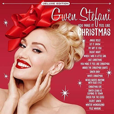 Gwen Stefani - You Make It Feel Like Christmas - (Deluxe Edition, Colored Vinyl, White) (Vinyl)