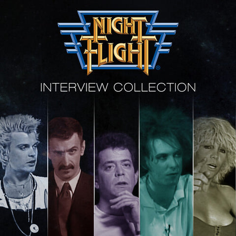 NIGHT FLIGHT INTERVIEWS: COLLECTOR'S EDITION - Night Flight Interviews: Collector's Edition Boxset (1-5) - (Boxed Set, Collector's Edition) (CD)