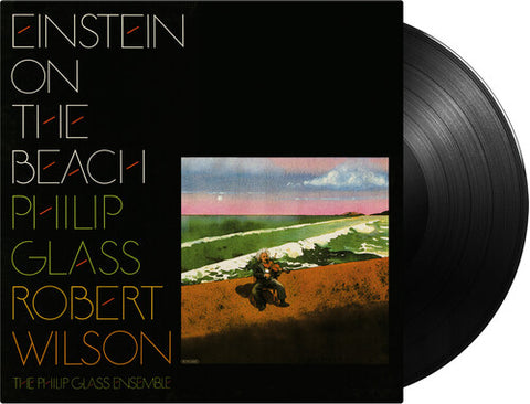 GLASS,PHILIP / WILSON,ROBERT - Einstein On The Beach - (180 Gram Vinyl, Boxed Set) (Vinyl)