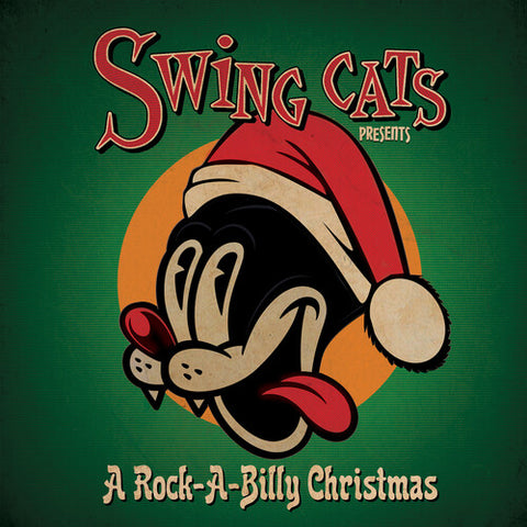 Danny B. Harvey - Swing Cats Presents A Rockabilly Christmas - (Red, Limited Edition) (Vinyl)