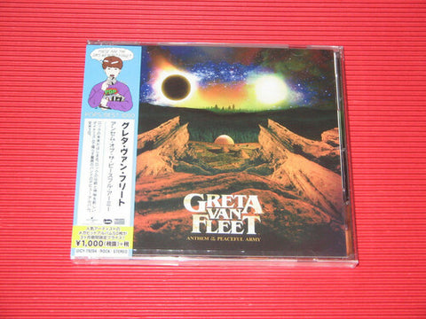 Greta Van Fleet - Anthem Of The Peaceful Army (Limited) (incl. bonus material) [Import] - (Limited Edition, Bonus Tracks, Reissue, Japan - Import) (CD)
