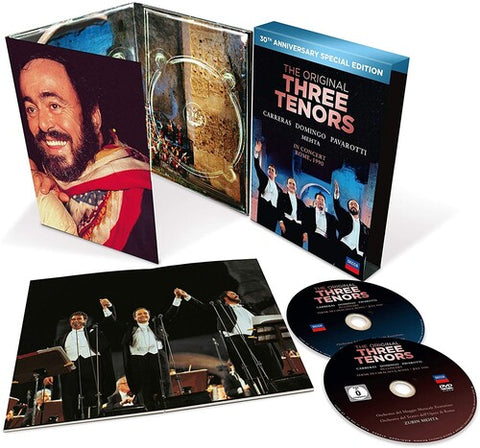 The Three Tenors - Three Tenors - 30th Anniversary Version - (With DVD) (CD)