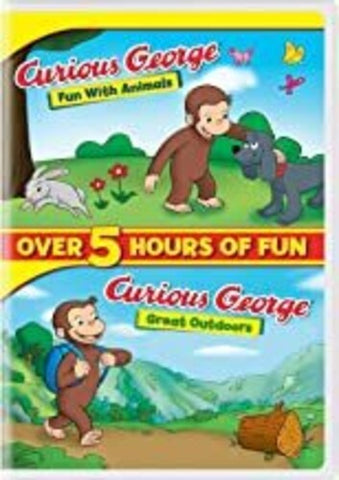 Curious George: Fun With Animals/ Great Outdoors - (2 Pack) (DVD)