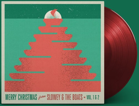 Slowey & the Boats - Merry Christmas From Slowey And The Boats, Vol. 1 & 2 - (Colored Vinyl, Ruby, Red, Limited Edition) (Vinyl)