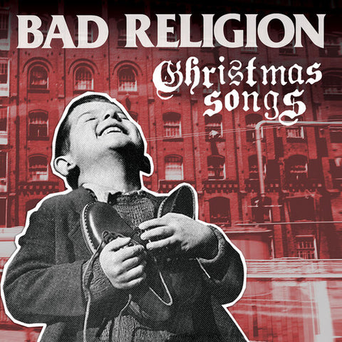 Bad Religion - Christmas Songs (Clear with Red Vinyl) - (Clear Vinyl, Red, Limited Edition) (Vinyl)
