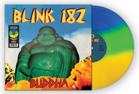 Blink 182 - Buddha (Tri-Color Vinyl) - (Yellow, Green, Blue) (Vinyl)