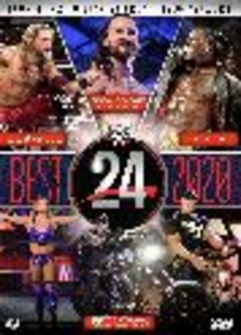 WWE: WWE24 The Best of 2020 - (Amaray Case, 2 Pack) (DVD)