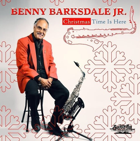 BARKSDALE JR,BENNY - Christmas Time Is Here - (Manufactured on Demand) (CD)