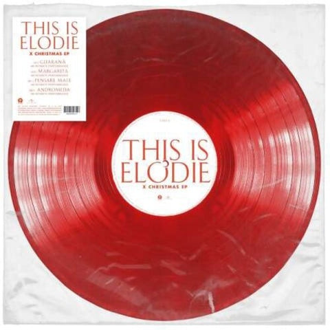 Elodie - This Is Elodie X Christmas (Red Vinyl) [Import] - (Red, Extended Play, Italy - Import) (Vinyl)
