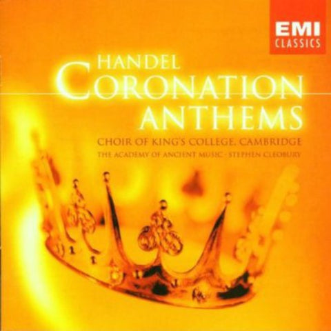 King's College Choir of Cambridge - Coronation Anthems -  (CD)
