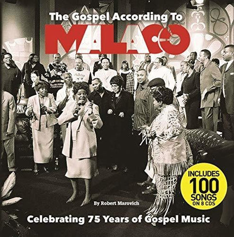 Various Artists - The Gospel According To Malaco (Various Artists) - (With Book, Boxed Set) (CD)