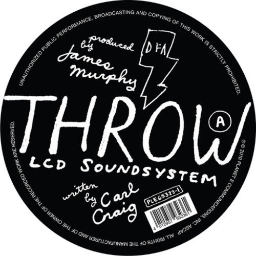 LCD SOUNDSYSTEM / PAPERCLIP PEOPLE - Throw - LIMITED EXCLUSIVE (Vinyl)