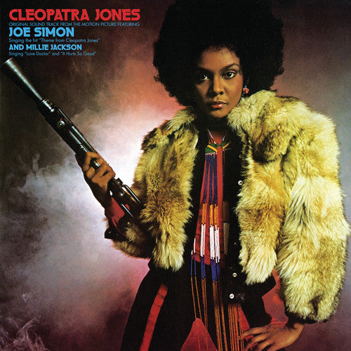 Various Artists - Cleopatra Jones (Original Soundtrack From the Motion Picture) - (Limited Edition, Colored Vinyl, Red, Blue) (Vinyl)