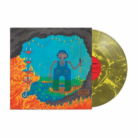 King Gizzard & The Lizard Wizard - Fishing For Fishies - INDIE EXCLUSIVE GREEN VINYL (LP, Album)