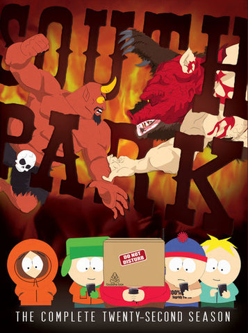 South Park: The Complete Twenty-Second Season - (Dolby, AC-3, 2 Pack, Widescreen, Slipsleeve Packaging) (DVD)