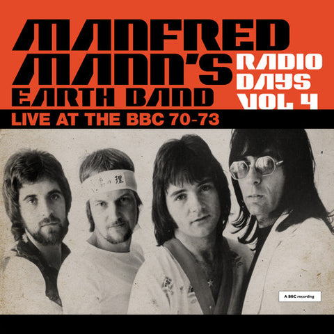 Manfred Manns Earth Band - Radio Days Vol. 4: Live At The Bbc 1970-73 -  (Vinyl)