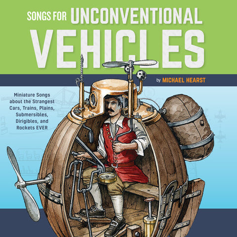 Michael Hearst - Songs For Unconventional Vehicles -  (Vinyl)
