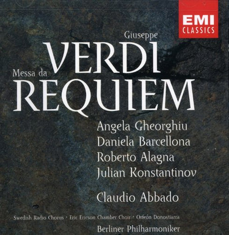 Claudio Abbado - Requiem -  (CD)