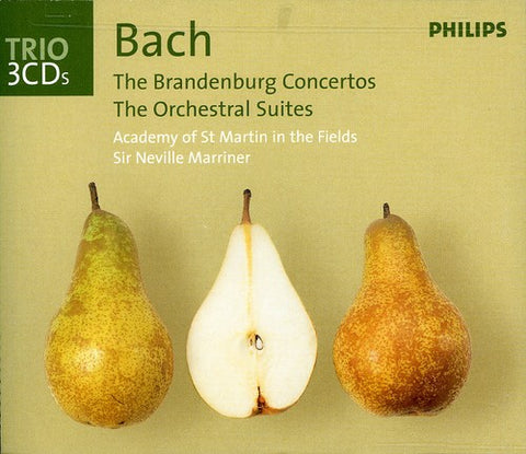 Neville Marriner - Brandenburg Concertos /  Orchestral Suites -  (CD)