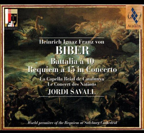 Jordi Savall - Requiem a 15 in Concerto /  Battalia a 10 -  (CD)