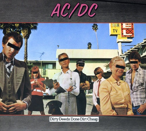 AC/DC - Dirty Deeds Done Dirt Cheap - (Deluxe Edition, Remastered) (CD)