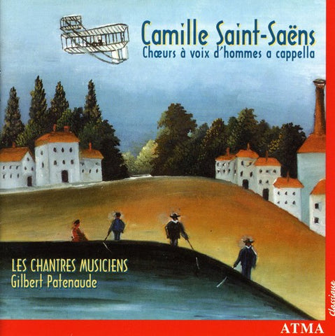 Les Chantres Musiciens - Works for a Cappella Male Choir -  (CD)