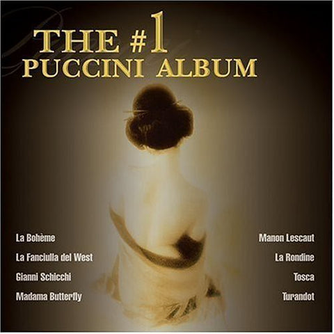Various Artists - #1 Puccini Album /  Various -  (CD)