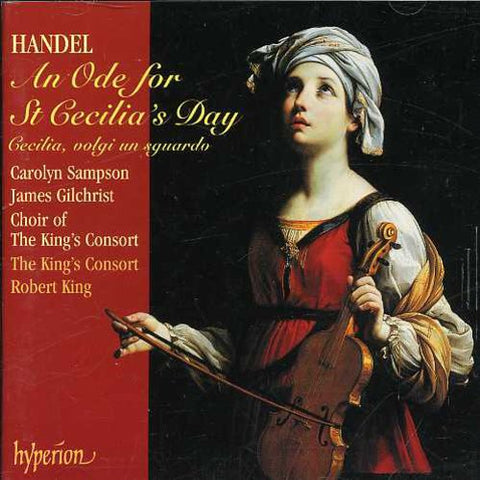 Les Lunes du Cousin Jacques - Ode for St Cecilia's Day -  (CD)