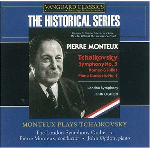 Pierre Monteux - Monteux Plays Tchaikovsky -  (CD)