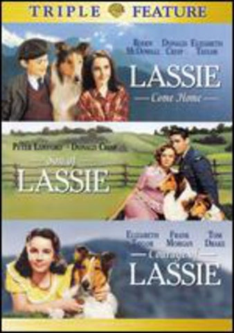 Lassie Come Home /  Son of Lassie /  Courage of Lassie -   (DVD)