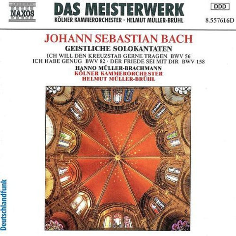 J.S. Bach - Sacred Cantatas for Bass -  (CD)
