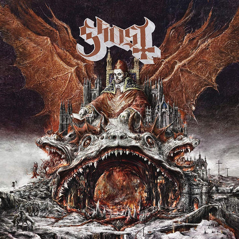 "Ghost - Prequelle [7""/LP][Transparent Orange w/ Black Smoke] ((Vinyl))"