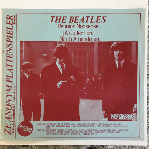 Beatles - Reunion Nonsense, Ninth Amendment (LP, Unofficial)