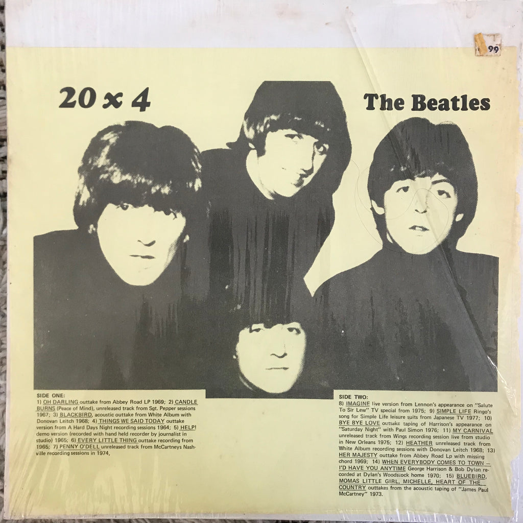Beatles - 20 x 4 (LP, Unofficial)