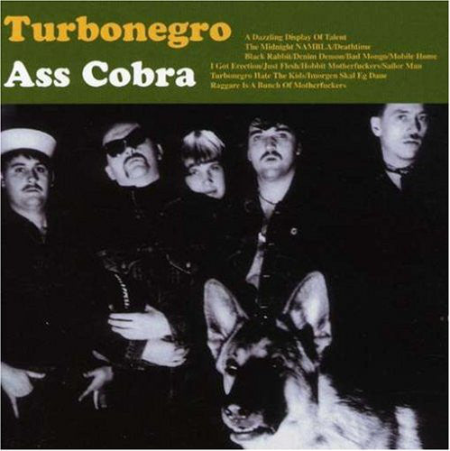Turbonegro - Ass Cobra (LP, Album) (Green Vinyl)