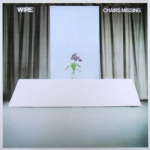 Wire - Chairs Missing (LP, Album, RE)