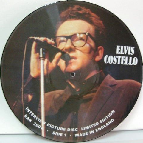 Elvis Costello - Interview Picture Disc (LP, Vinyl, Pic Disc)