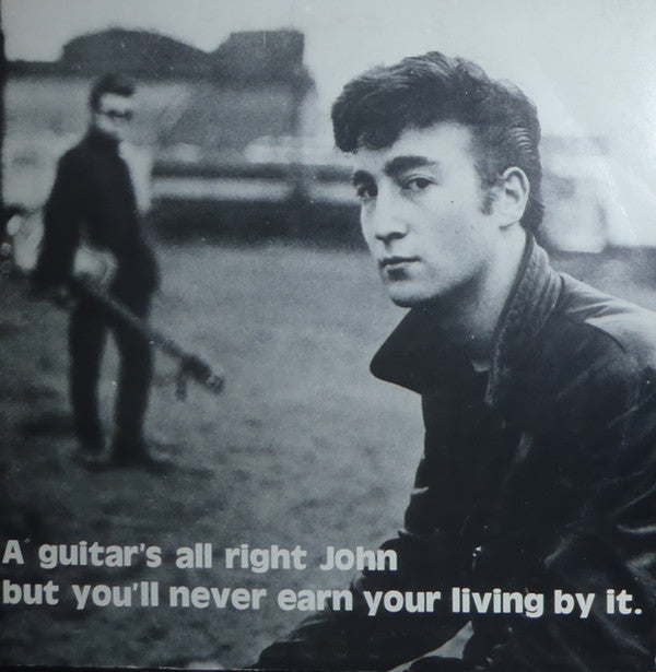 "Lennon, John - A Guitars All Right John (10"", Unofficial, Orange Vinyl)"