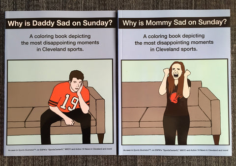 Why Is Daddy/Mommy Sad Coloring Book Combo Pack #2
